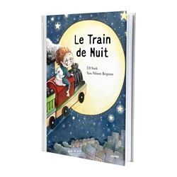 "LILLABO book, The Night Train Pages: 32 pieces Width: 8 ¾ "" Height: 12 ¼ "" Pages: 32 pieces Width: 22.2 cm Height: 31.4 cm"