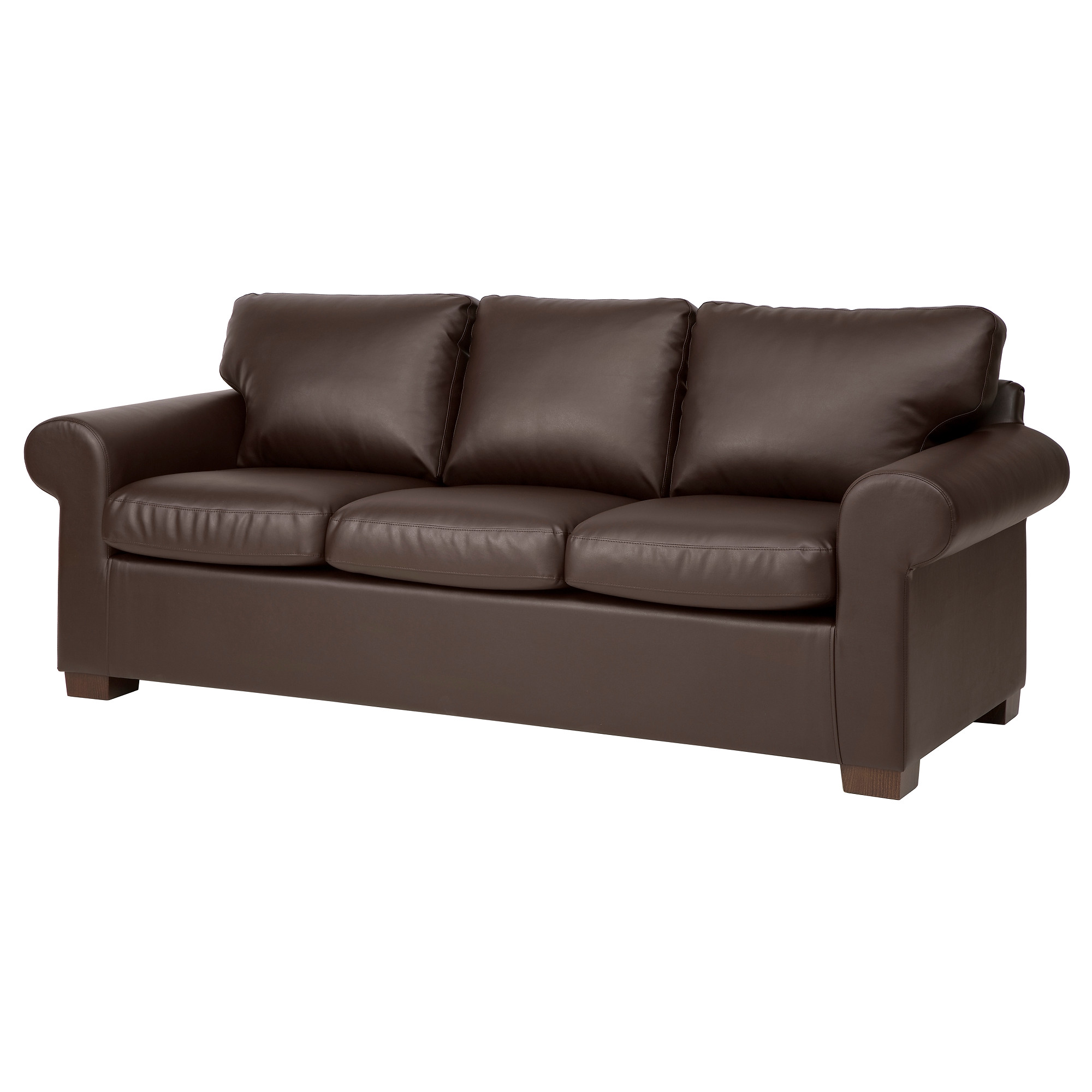 ektorp sofa - kimstad brown - ikea