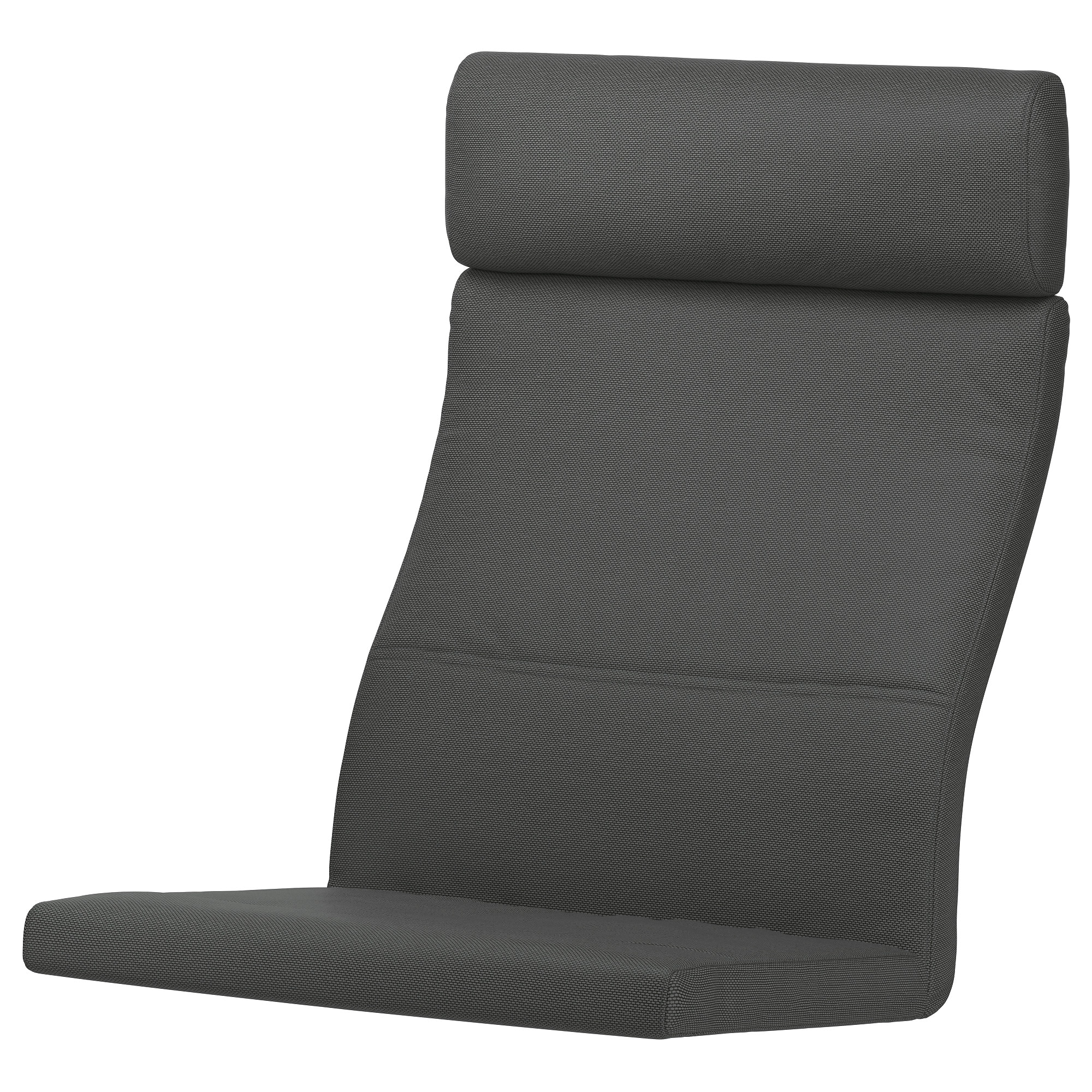 poa ng chair cushion hillared anthracite ikea