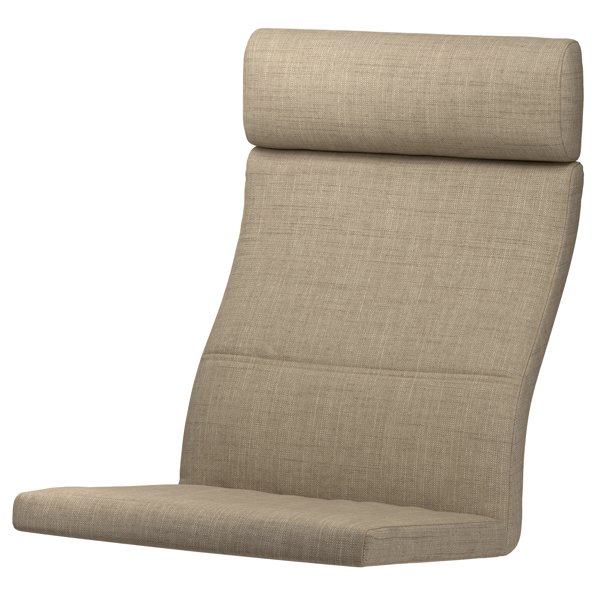 "PO""NG Chair cushion Isunda beige IKEA"