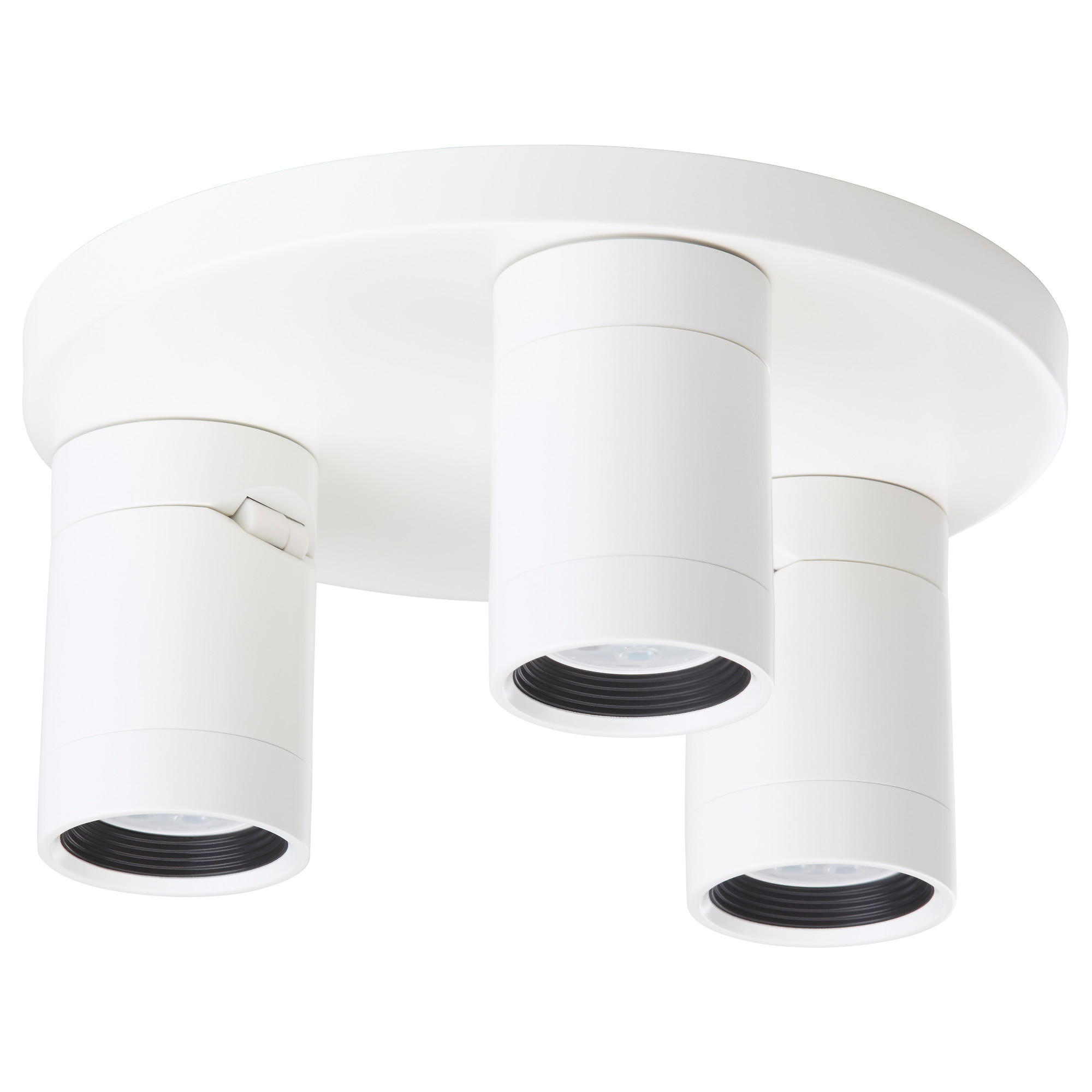 NYMÅNE ceiling spotlight with 3 lights white Max. 6 W Diameter 10  sc 1 st  Ikea : white track lights - azcodes.com