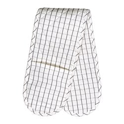TYDLIGT oven glove, white Length: 90 cm
