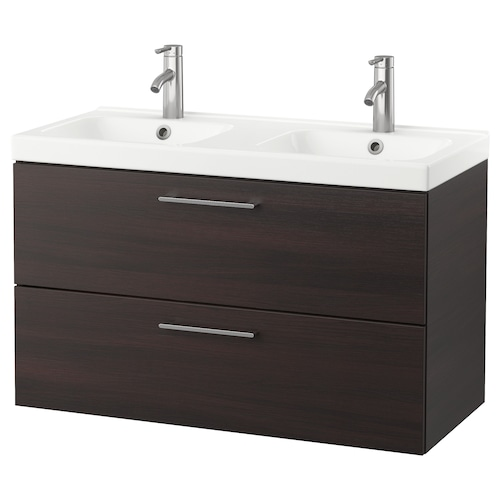 IKEA GODMORGON / ODENSVIK Sink cabinet with 2 drawers