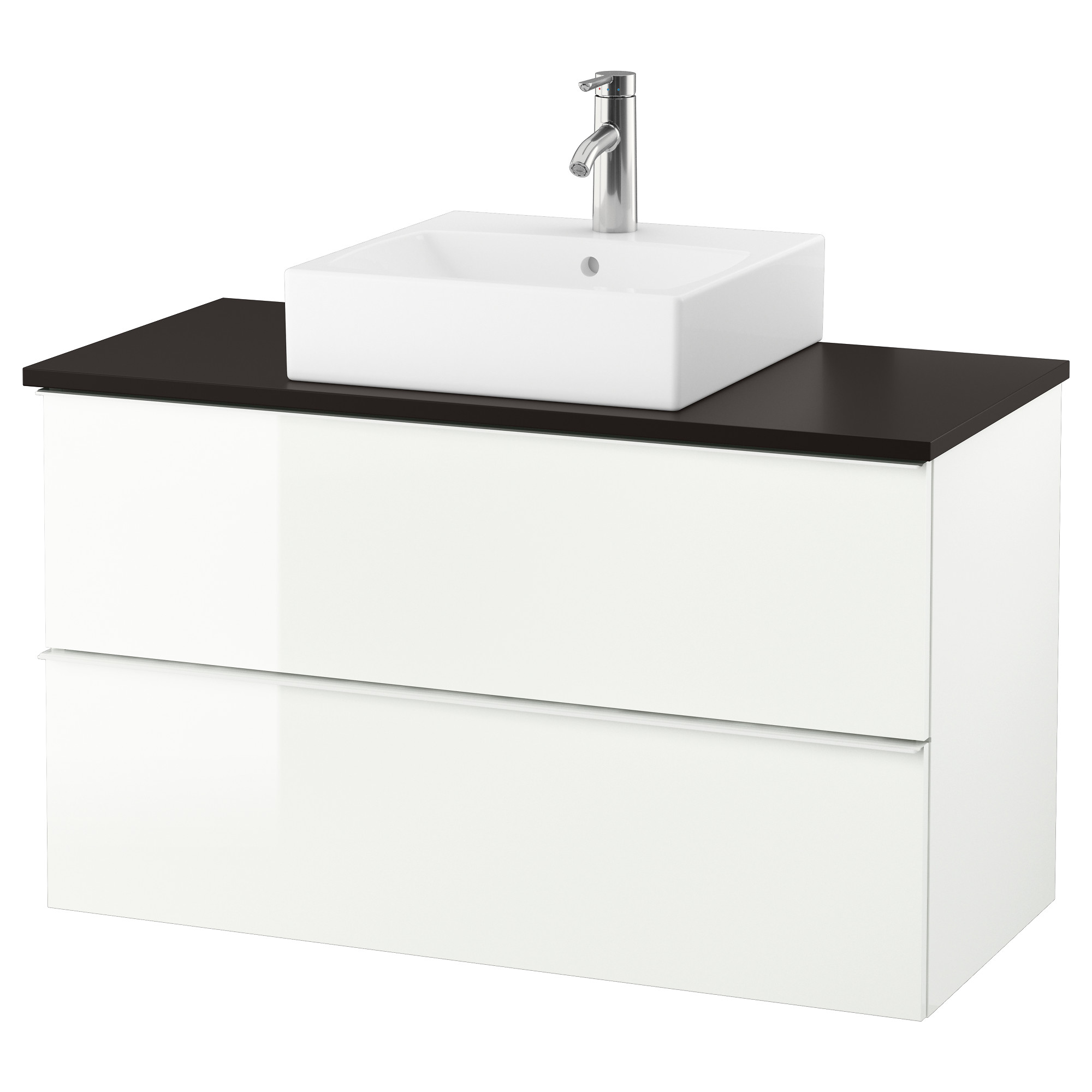 Bathroom sink cabinets white - Godmorgon Tolken T Rnviken Vanity Countertop And 17 3 4 Sink