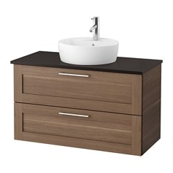 Bathroom sink cabinets ikea for Comptoir salle de bain ikea