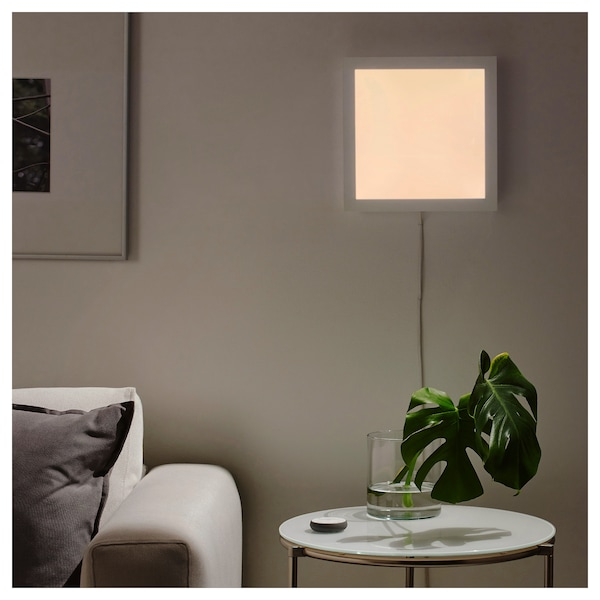 IKEA FLOALT Panel świetlny LED zd ster