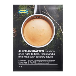 ALLEMANSRÄTTEN, Mix for cream sauce