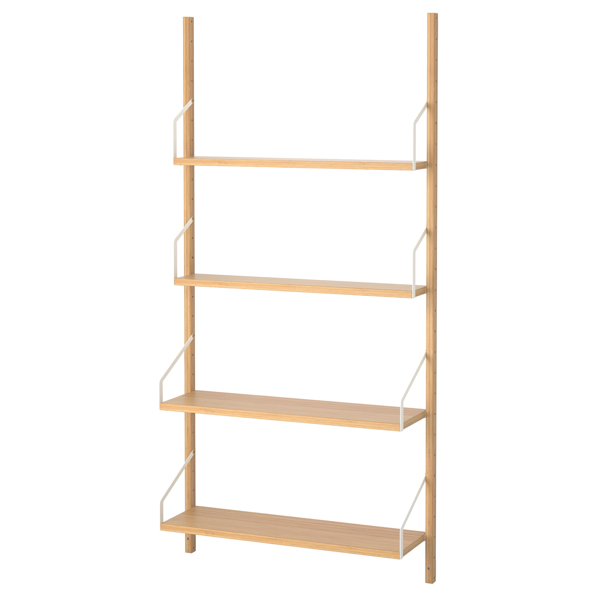 SVALNÄS Wall Mounted Shelf Combination