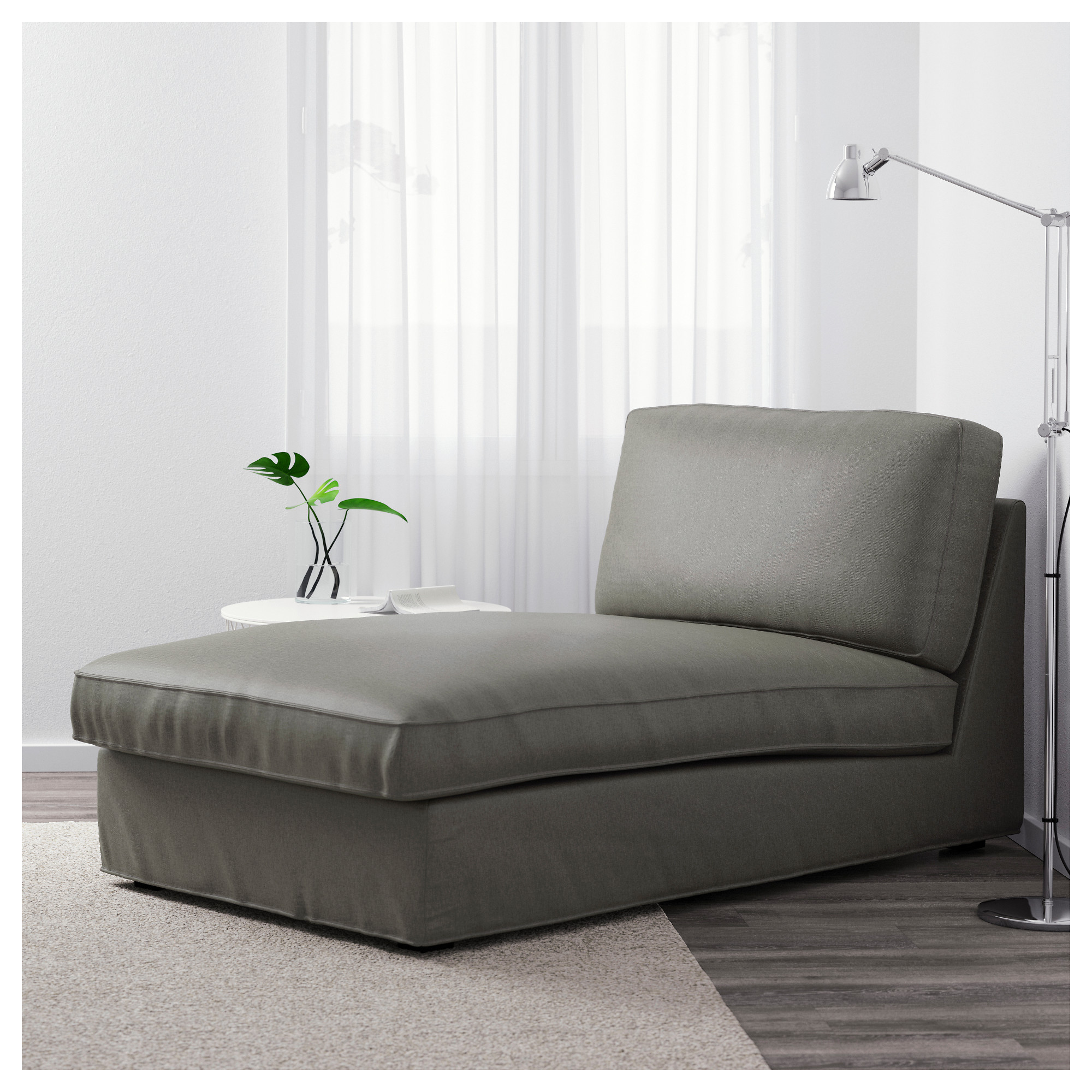 KIVIK Chaise Orrsta light gray IKEA