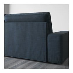 KIVIK. Sofa, Hillared Dark Blue