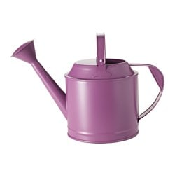 SOCKER watering can, in/outdoor, dark lilac Height: 29 cm Volume: 5 l