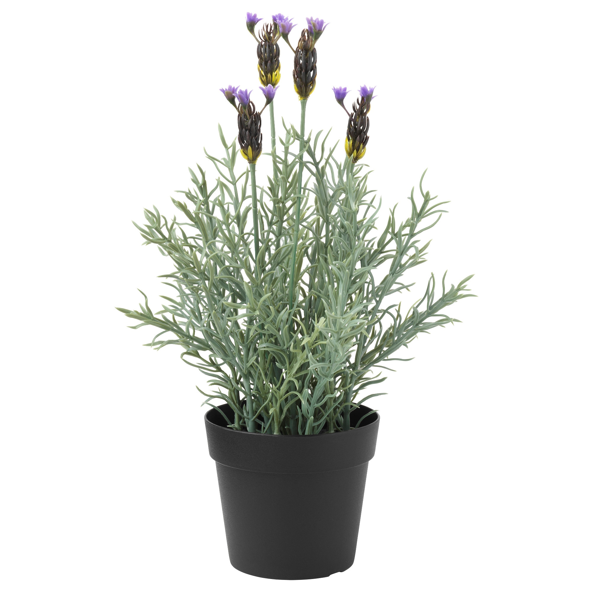 FEJKA Artificial Potted Plant, In/outdoor, Lavender Diameter Of Plant Pot: 9