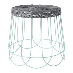 SOLROSFRÖ plant stand, in/outdoor grey, green