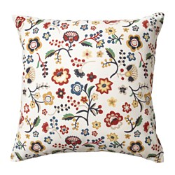 BRUNÖRT, Cushion cover, multicolour