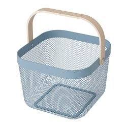RISATORP basket, blue