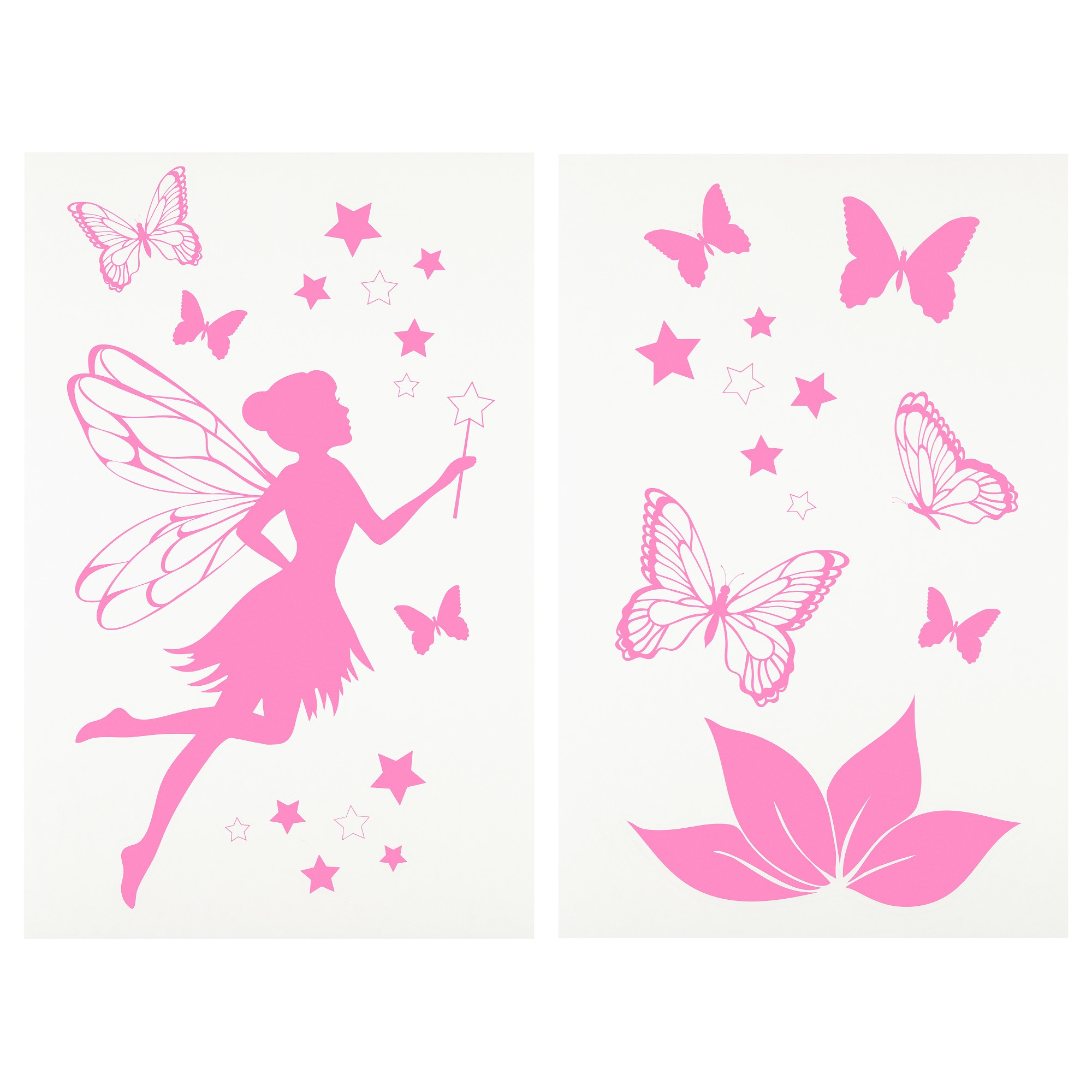 Beau stickers deco chambre fille for Ikea stickers chambre