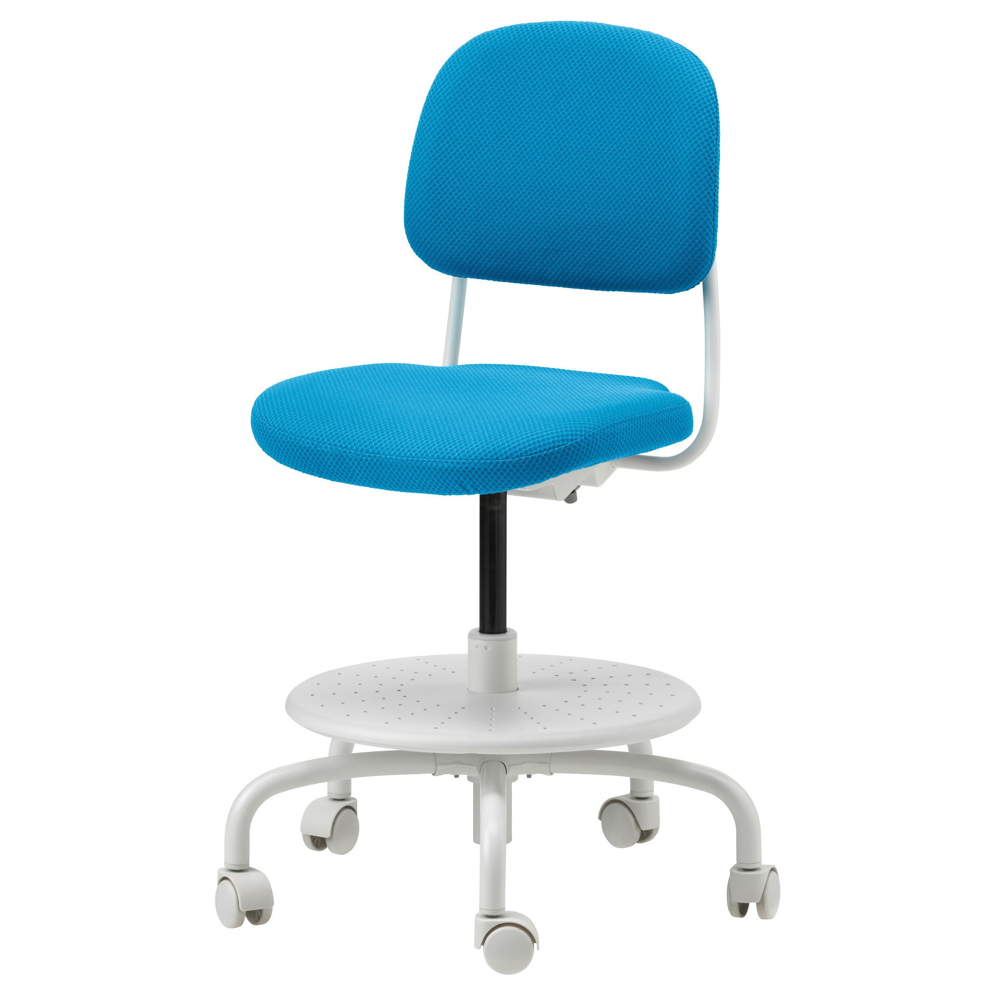 Vimund Child S Desk Chair Bright Blue Tested For 243 Lb Width 24 3