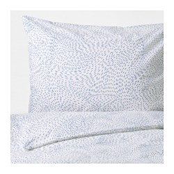 AVSIKTLIG quilt cover and 2 pillowcases, assorted colours Quilt cover length: 150 cm Quilt cover width: 200 cm Pillowcase length: 50 cm