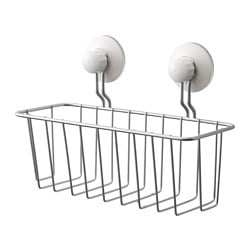 IMMELN shower basket, zinc plated
