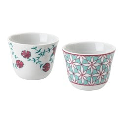 HEMMAFEST kava cup, assorted patterns Height: 5 cm Diameter: 2 cm Volume: 8 cl
