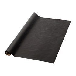 GIVANDE gift wrap roll, black Length: 5 m Width: 0.7 m Area: 3.50 m²