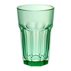 SOMMAR 2017 glass, green Height: 14 cm Volume: 35 cl
