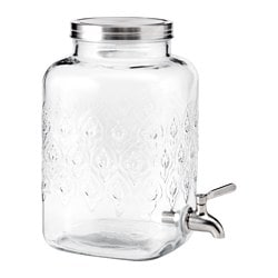 FÖRFRISKNING jar with tap