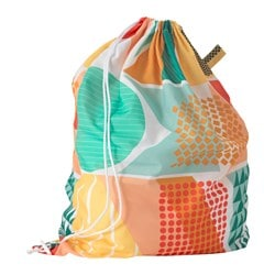 SNAJDA laundry bag, multicolour Volume: 60 l