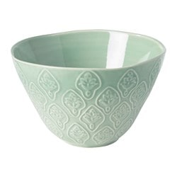 "SOMMAR 2017 bowl, green Diameter: 5 "" Height: 3 "" Diameter: 13 cm Height: 8 cm"