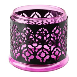 SOMMAR 2017 tealight holder/candle holder, lilac Height: 9.5 cm Diameter: 11 cm