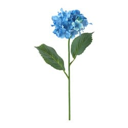SMYCKA artificial flower, Hydrangea, blue Height: 60 cm