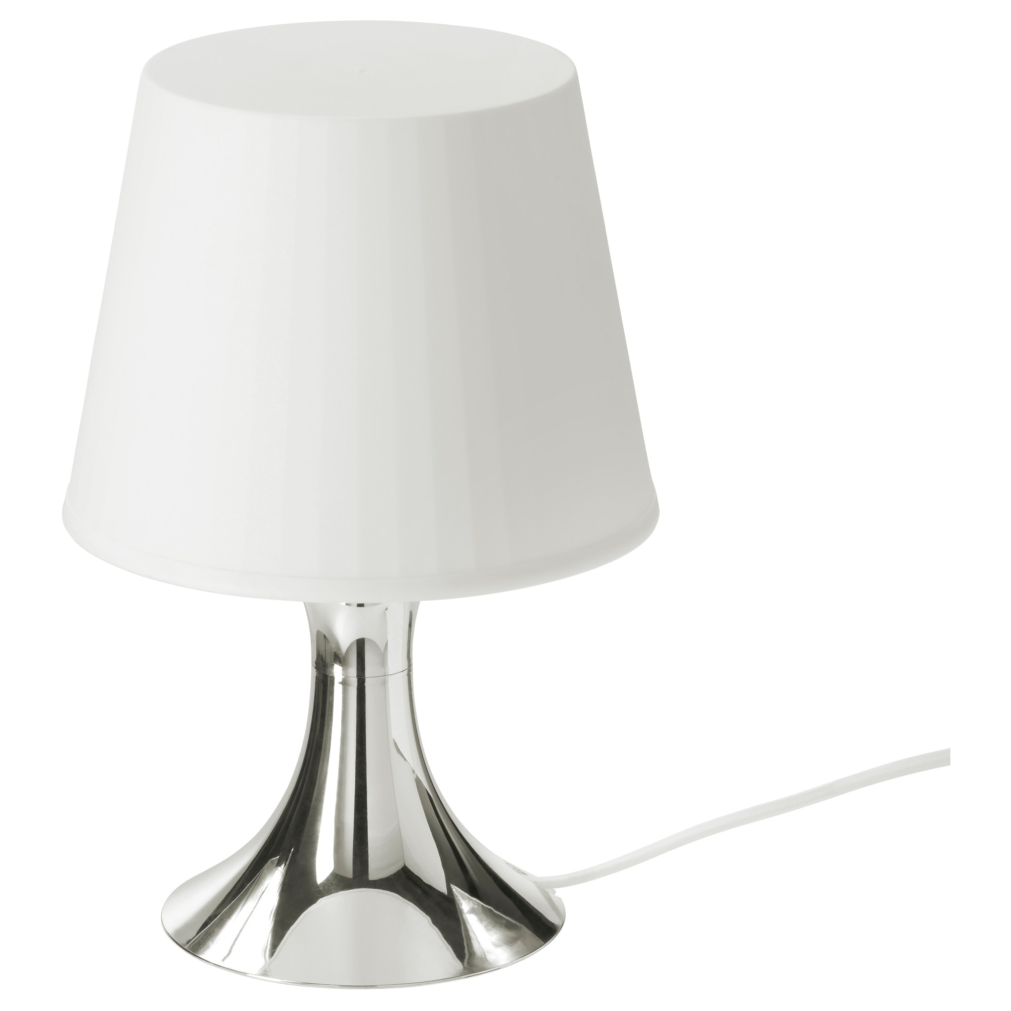 Table lamps ikea lampan table lamp with led bulb silver color max 40 w shade width geotapseo Choice Image