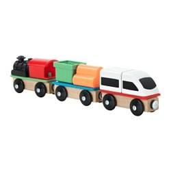 LILLABO, 3-piece train set