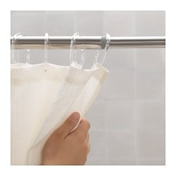HORNEN shower curtain rod Min. length: 70 cm Max. length: 120 cm