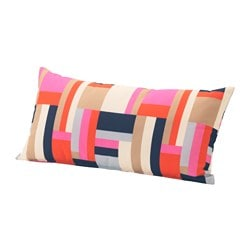 GRENÖ cushion, outdoor, multicolour Width: 59 cm Depth: 30 cm Thickness: 15 cm