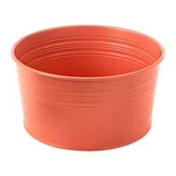 SOCKER bowl, in/outdoor, orange Diameter: 20 cm Height: 10 cm