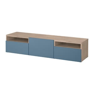 Color: Walnut effect light gray/valviken dark blue.