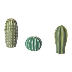 SJÄLSLIGT Decoration, set of 3 $14.99