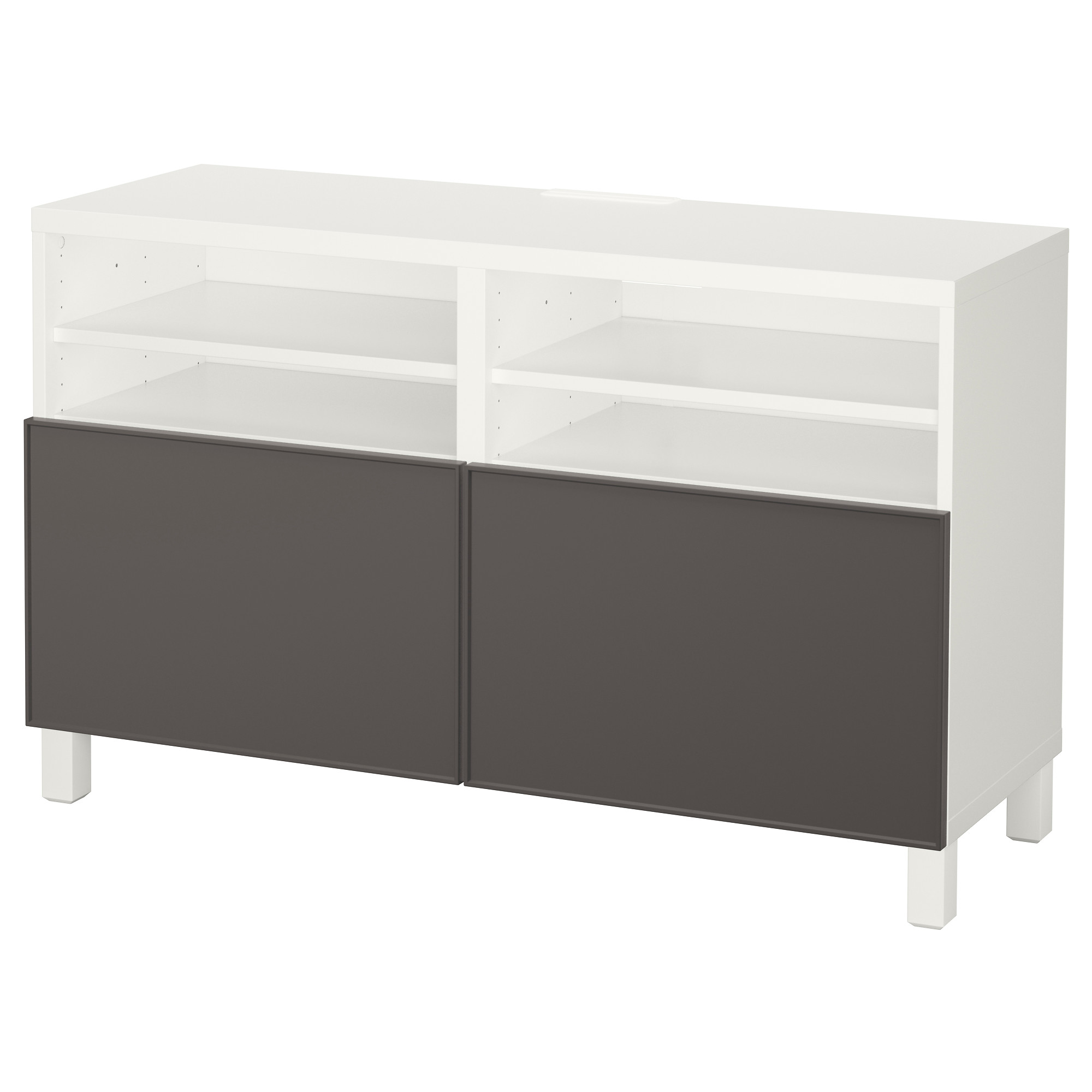 Interesting best banc tv avec portes blanc grundsviken for Meuble tv petite largeur