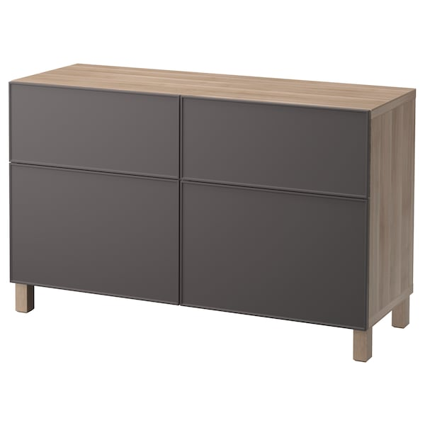 best aufbewkomb t ren schubladen grau las nussbaumnachb grundsviken dunkelgrau ikea. Black Bedroom Furniture Sets. Home Design Ideas