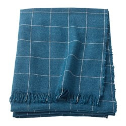 VÅRKRAGE plaid, blu