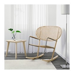 GRÖNADAL Rocking Chair, Gray, Natural