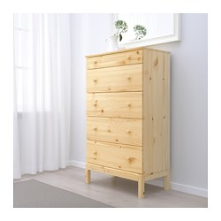 Tarva 5 Drawer Chest Pine Ikea Family Member Price