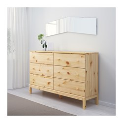 TARVA 6 Drawer Chest   IKEA