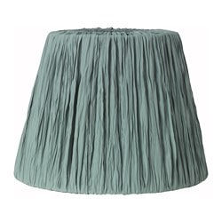 "HEMSTA lamp shade, green Height: 10 "" Diameter: 14 "" Height: 26 cm Diameter: 36 cm"
