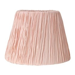 "HEMSTA lamp shade, pink Height: 10 "" Diameter: 14 "" Height: 26 cm Diameter: 36 cm"
