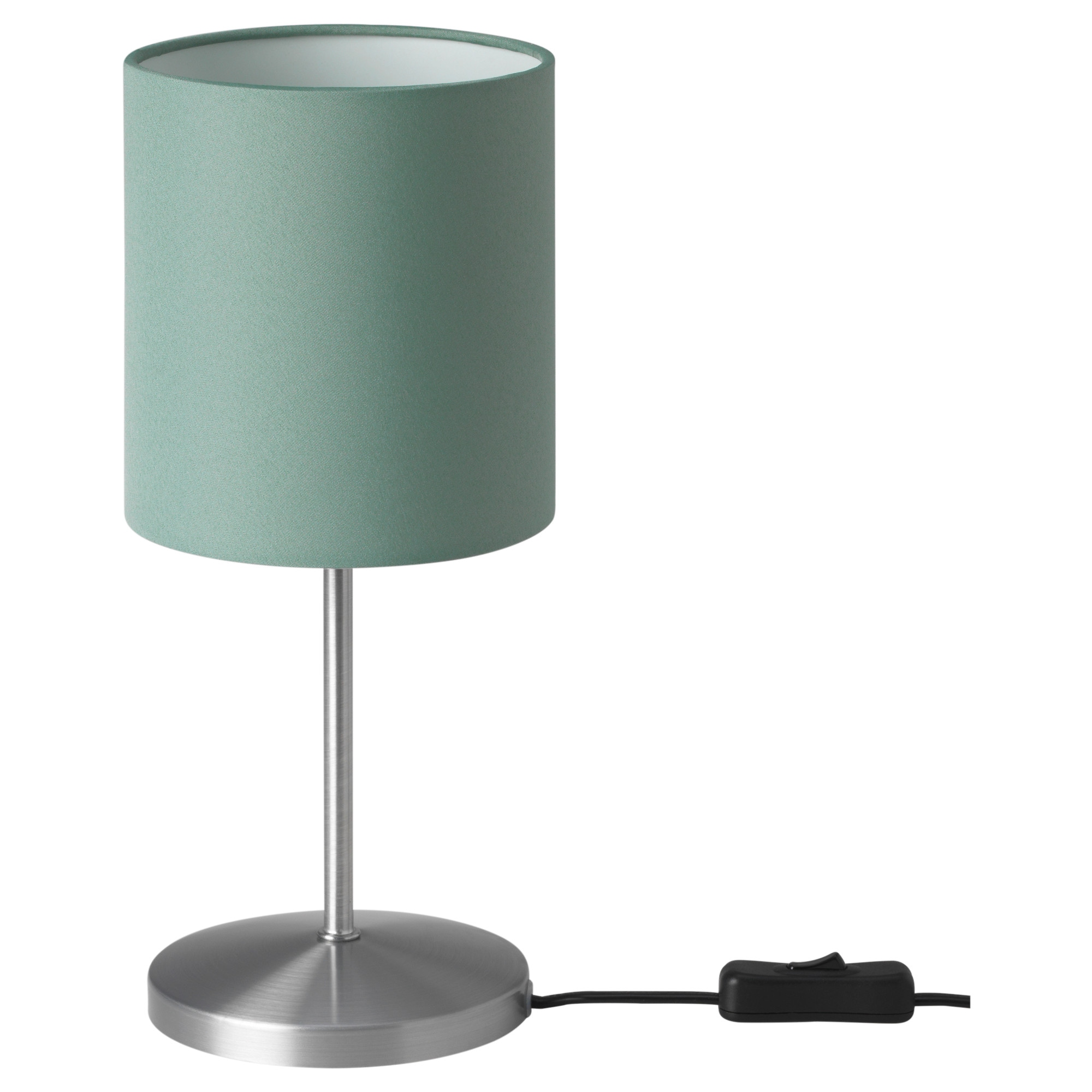 Table lamps ikea ingared table lamp with led bulb green height 12 diameter 5 geotapseo Images