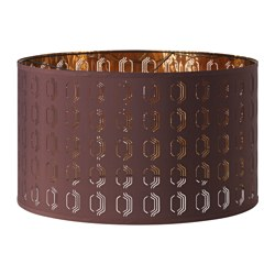 "NYMÖ lamp shade, lilac, brass color Height: 14 "" Diameter: 23 "" Height: 35 cm Diameter: 59 cm"
