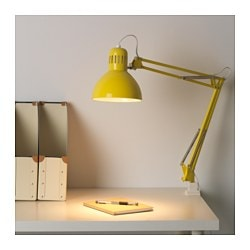 Marvelous TERTIAL Work Lamp With LED Bulb, Yellow