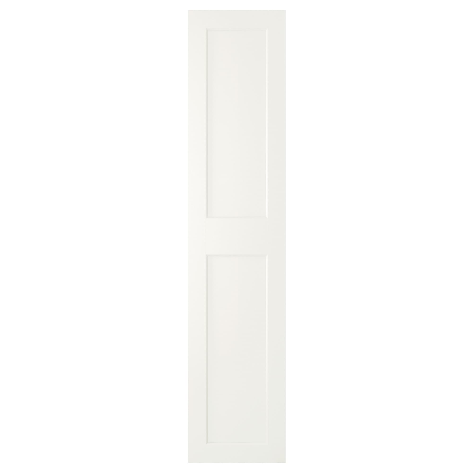 GRIMO Door with hinges, white